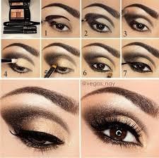 black gold eyeshadow tutorial by