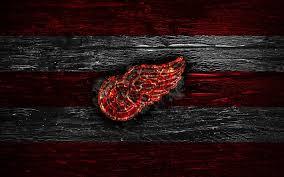 detroit red wings fire logo nhl