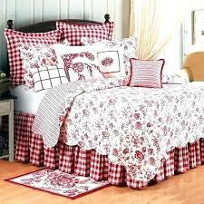 red and white gingham sheets checd