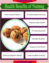 8 health benefits of nutmeg curebuzz