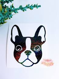 Boston Terrier Decal Yeti Dog Decal Yeti Cup Decal Instant Pot Etsy