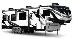 vole luxury 5th wheel toy hauler