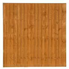 Shed Fence Golden Brown