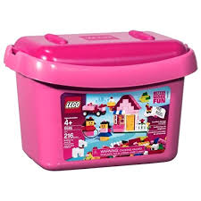 Amazon Com Lego Pink Brick Box 5585 Toys Games