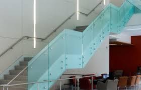 frameless tempered glass railing