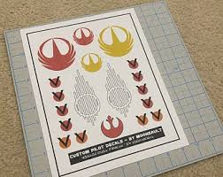Rogue One Decal Etsy