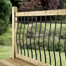 Tuscany Deck Railing Kit In Iron