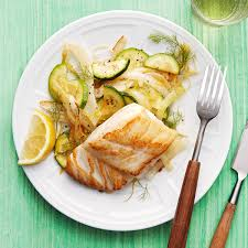 Panfried Cod with Fennel & Squash ...