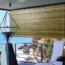 bamboo window shades patio blinds