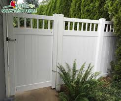 Cheap Pvc Top Closed Picket Privacy Fence Garden Fence Panels China Pvc Fence Pool Fence Made In China Com