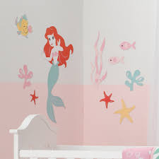 Mermaid Tail Wall Decals Art Amazon For Home Design Uk Girl Vamosrayos