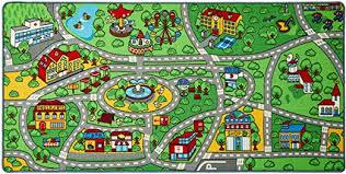 n play city life kids road