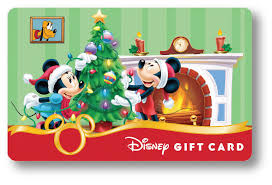 new holiday disney gift card designs