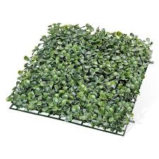 24pcs 10x10 Inch Artificial Boxwood Hedge Privacy Fencing Screen The Diy Outlet