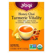 yogi tea honey chai turmeric vitality