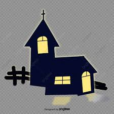 Black Halloween House Fence Halloween Cartoon Enclosure Png Transparent Clipart Image And Psd File For Free Download