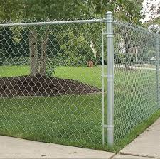 Galvanized Pvc Coated Chain Link Fence At Best Price Galvanized Pvc Coated Chain Link Fence By Dwarka Wires In Mumbai Justdial