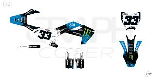 Graphic Kit Dirt Bike Husqvarna Tc 50 Splash Monster Blue Full Graphcover Custom Graphic Kits For Jet Ski Karting Dirt Bikes Atv Utv