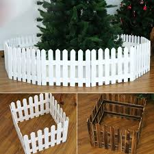 1 6m Decoractive Wooden Picket Fence Miniature Home Garden Christmas Xmas Tree Wedding Party Decoration Wish