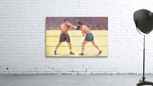 vintage boxing art boxing fine art