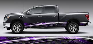 Armor Truck Graphic Rocker Panel Decal Kit Miller Graphics