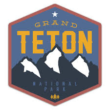 Grand Teton National Park Sticker Merica Clothing Co