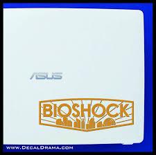 Bioshock Emblem Bioshock Inspired Vinyl Decal Decal Drama