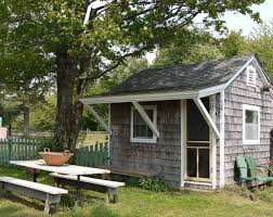 garden shed into tiny guest house