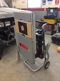 Bosch 4100 09 Table Saw Collapsed With Router Insert Extension Bosch Table Saw Jet Woodworking Tools Woodworking