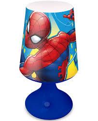 Spiderman Table Lamp Kids Bedroom Lighting