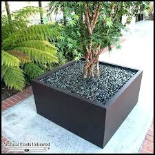 large decorative planters for outdoors
