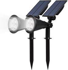 solar powered lights outdoor
