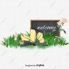 كتب و خلفيات زهور جميلة كتاب مفتوح الزهور الخلفية Png وملف Psd