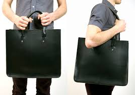 billy kirk leather tote cool material