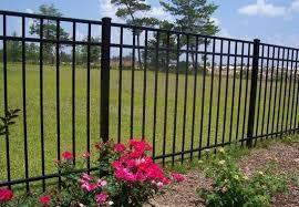 Jerith Metal Fence Panels Jefferson 5 Ft X 6 Ft Black Aluminum Fence Panel Rs60b202sn For Sale Online Ebay