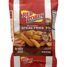 red robin steak fries seasoned