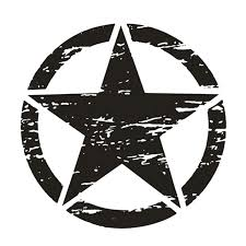 2020 Army Military Star Vinyl Decal Car Truck Window Sticker Je Ep 50 50cm Waterproof From Out2244 12 34 Dhgate Com