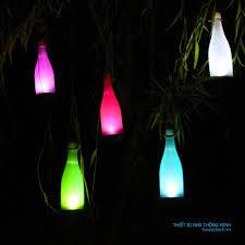 Chai đèn Led trang trí ngoài trời - đèn trang trí cao cấp