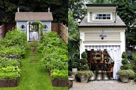 home garden homemade wooden in country