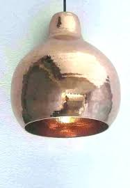hammered copper lamp btoec com