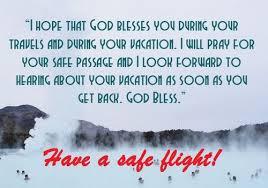 prayer for a safe flight