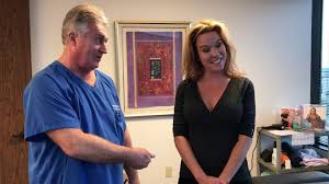 Houston Chiropractor Dr Gregory Johnson Adjust Tomball Lady For ...