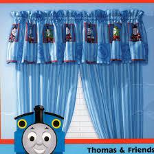 Thomas And Friends Window Drape Train Room Decor Boys Room Curtains Thomas And Friends