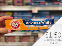 new arm hammer toothpaste coupon for