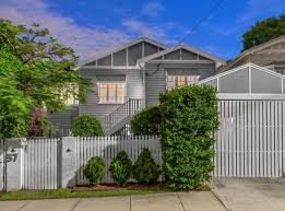 Wilston Exterior White Picket Fence Carport Queenslander Homes