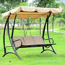 swing bench with canopy decor belezaa