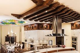 faux beams wood mantels ceiling