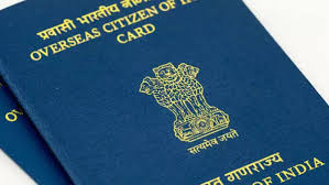 renew your oci if flying to india