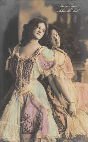 Tiller Girls: Mary Read (left) and Ada Mitchell (right). GGCo postcard  357/3. | Girl dancing, Vintage ladies, Girl