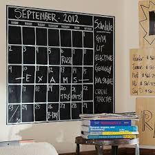 Chalk Calendar Wall Decal Wall Calendar Chalkboard Calendar Kids Wall Decals